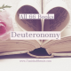 All 66 Books: Deuteronomy