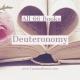 All 66 Books: Deuteronomy