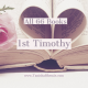 All 66 Books: 1st Timothy