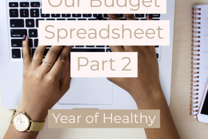 Our Monthly Budget Spreadsheet Part 2