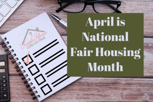 April is National Fair Housing Month